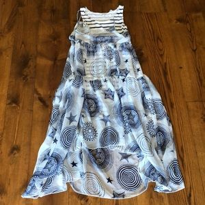 Junior GAULTIER 12 NAUTICAL ABSTRACT CIRCLE PRINT